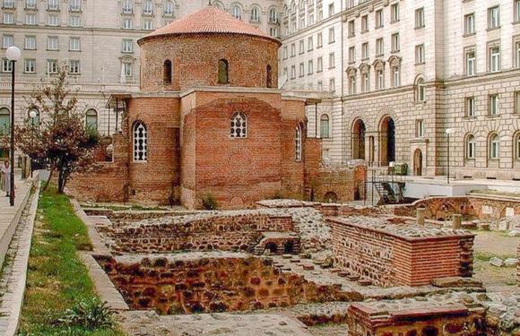 Day Trip To Sofia-Boyana Church, Rotonda St. George, Day trips from Sofia, transfers and tours around Bulgaria, iksam, Sofia city centre